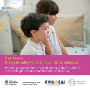 Lee más sobre el artículo 12/12: El Día Internacional de la Radio y la Televisión a favor de las Infancias