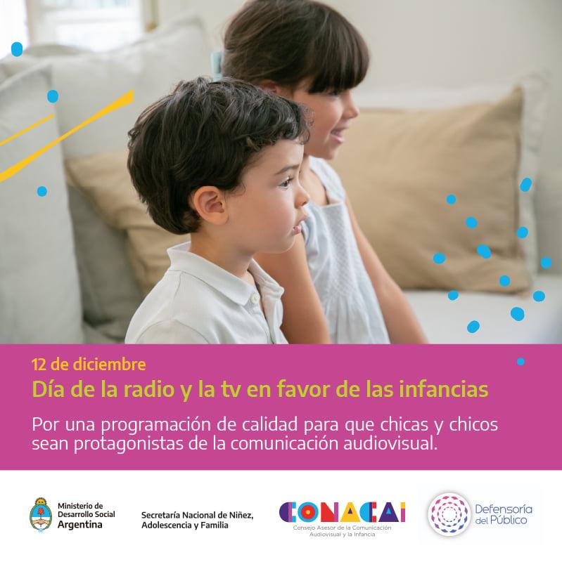 En este momento estás viendo 12/12: El Día Internacional de la Radio y la Televisión a favor de las Infancias