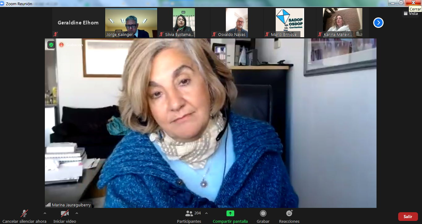 """En este momento estás viendo Marina Juareguiberry: El derecho a la educación """"está garantizado"""" desde el comienzo de la pandemia"""