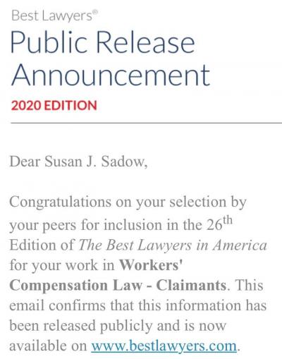 best lawyers 2020