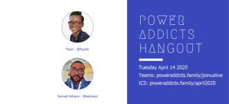 Power Addicts April Hangout
