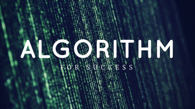 The Algorithm For Success Cover