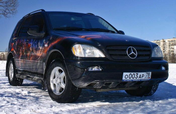 Epic Art on a Mercedes