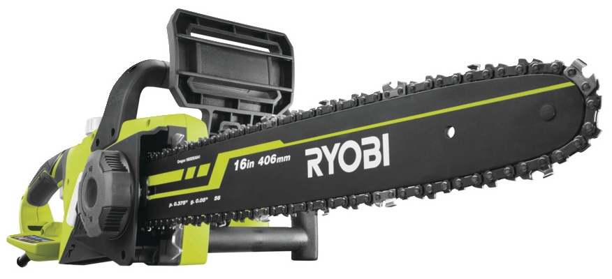 Kleine Ryobi Elektrokettensäge mit 40 cm Schwert