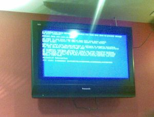 Bluescreen in Hannover