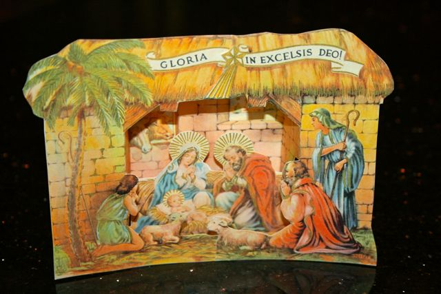 Vintage Amp Contemporary Nativity Scenes Saf Affect