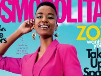 Miss Universe, Zozibini Tunzi Covers Cosmopolitan Magazine