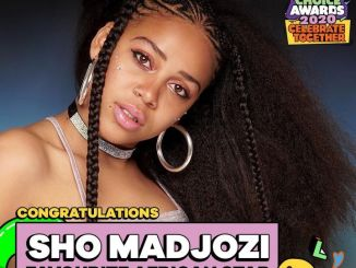 Sho Madjozi Bags A Nickelodeon Kids Choice Award