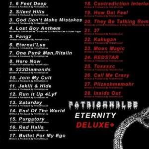 PatricKxxLee - Eternity Deluxe EP Tracklist