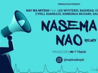 Nay Wa Mitego ft Leo Mysterio, Baghdad, Climax, Kamikaze, Kipunga & Dallas – Nasema Nao Remix