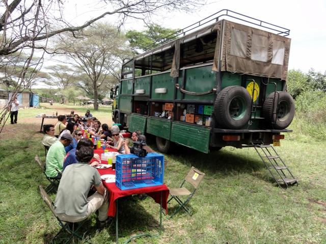 Safari en Camión - Comida en ruta