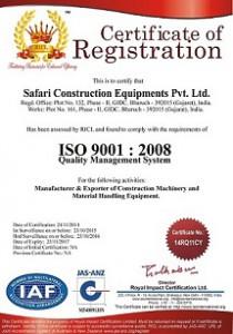 Safari-ISO-Certificat