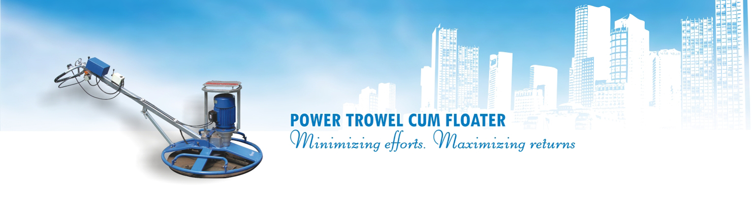 Power Troweller Cum Floater