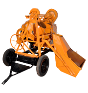 Winch-Concrete-Mixer