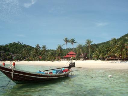 Maen Nam Beach, Koh Pha Ngan, Tailandia