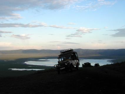 La diligencia en Ngorongoro. Tanzania, marzo de2002