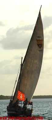 Dhow en Lamu. Kenya. Septiembre de 2007