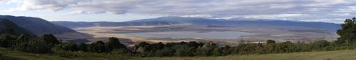 Cráter de Ngorongoro desde Crater Lodge. Agosto de 2007. Tanzania