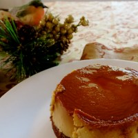 The Impossible Chocoflan - and giving thanks to fellow-bloggers!