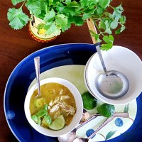 Mexican Lime Soup with chicken