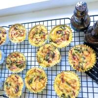 Swiss Chard, Beet Greens and Ricotta gluten-free muffins