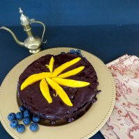 Chocolate Beet Cake with chocolate ganache