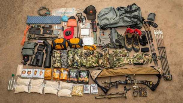 Elk Hunting Day Pack List for Emergencies