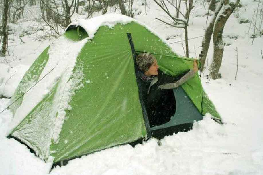 How to Make Tent Warm