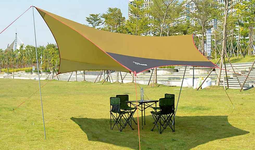 tarp for summer heat