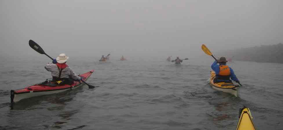 Weather and Water Condition in Kayaking