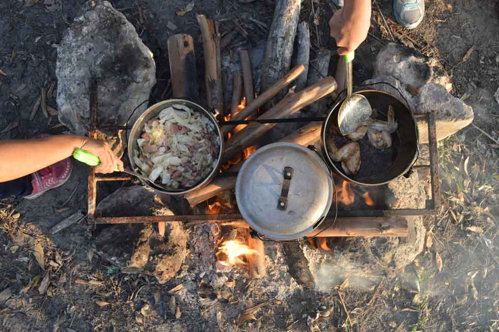 Boiled Fish Recipes Over Campfire