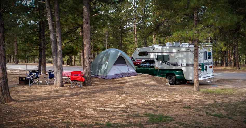 EASY Campsite for RV Camping
