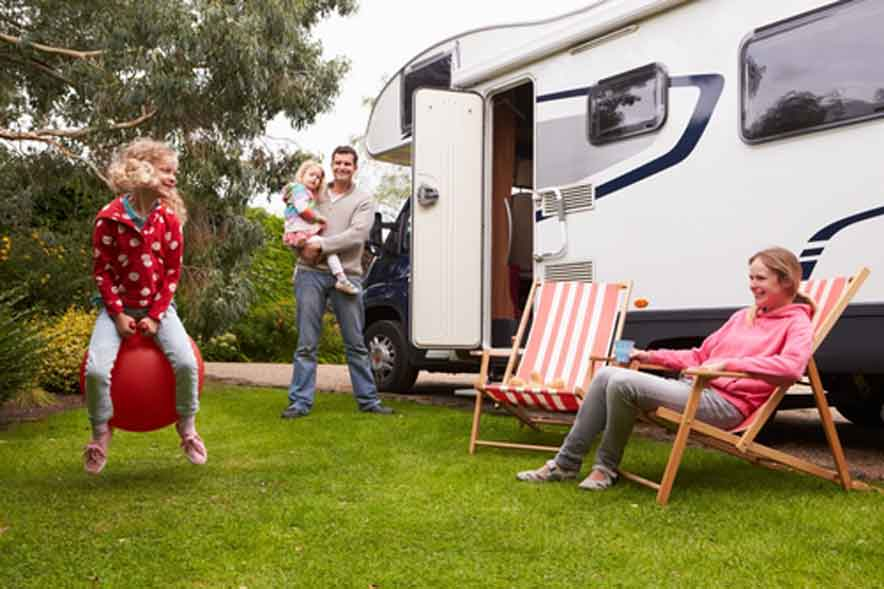 Safety on RV Camping with Baby