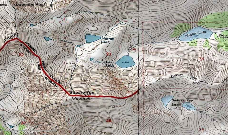 Using Contour Maps to Find Hiking Trails