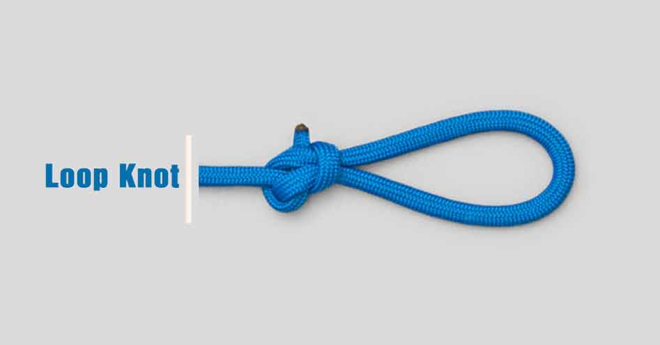 Tie a Hook on a Fishing Pole Using Loop Knot