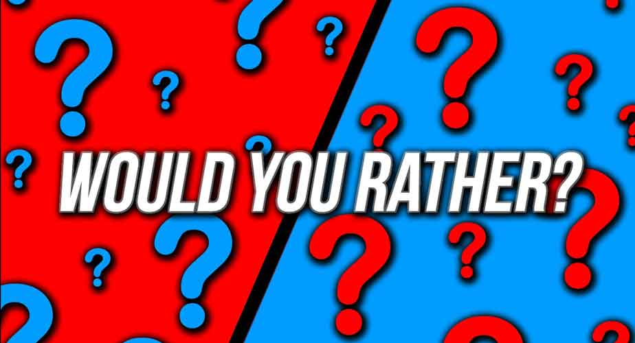 Would you Rather: A Simple Question Answer Game