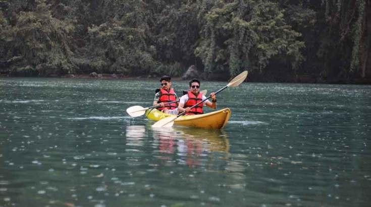 Paddling the Kayak for Beginners
