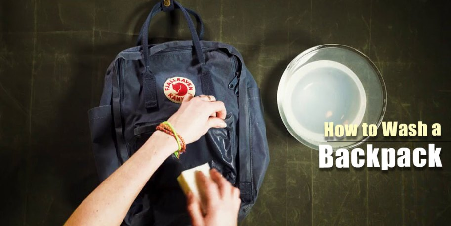 How to Wash a Backpacker