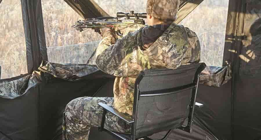Why Use A Ground Blind Chair for Hunting