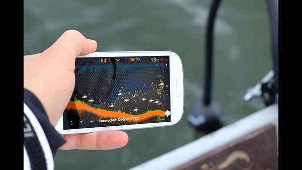 Imaging Fish Finder Portability