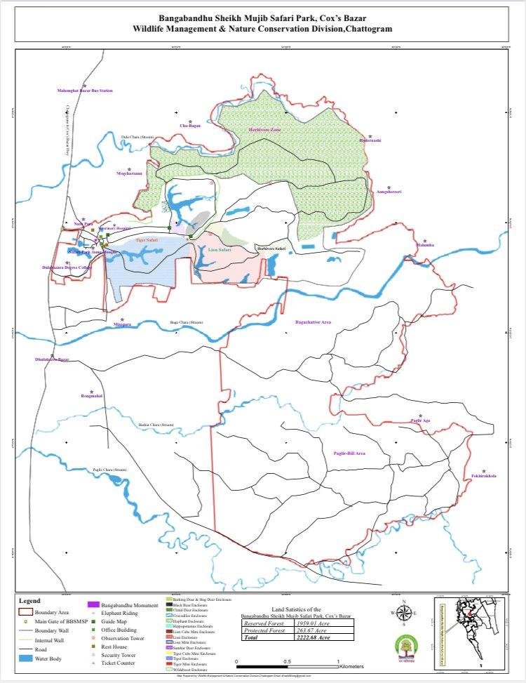 Safari Park Full Guide Map
