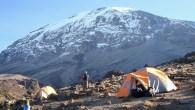 Climbing Shira Route