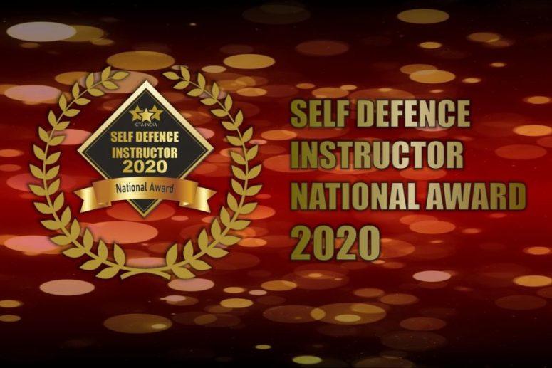 Self Defence Instructor National Award