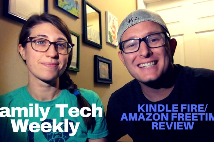 PODCAST: Kindle Fire/Amazon FreeTime App Review