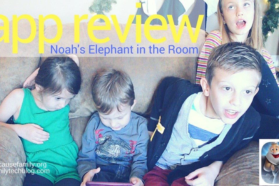 App Review: Noah's Elephant in the Room