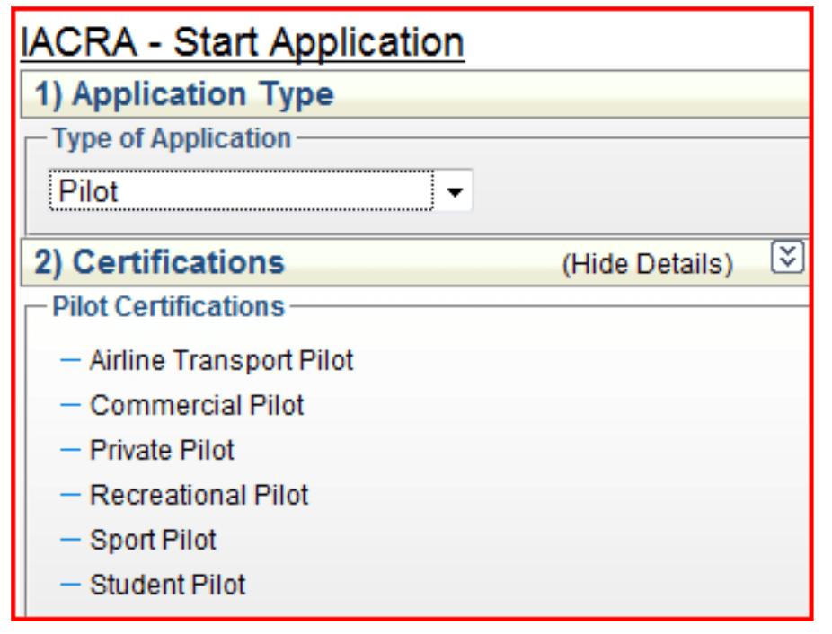 How To Apply In Iacra For A Student Pilot Certificate Aviation