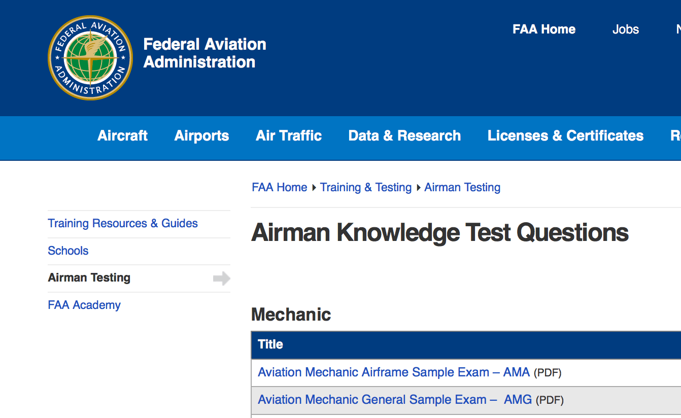 Get Ready! New FAA Knowledge Tests June 13th – Aviation Ideas and
