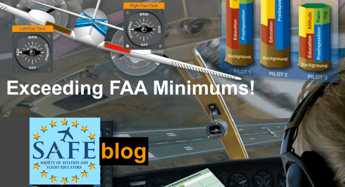 "Buffering ""FAA Minimums"" Aim For Excellence!"
