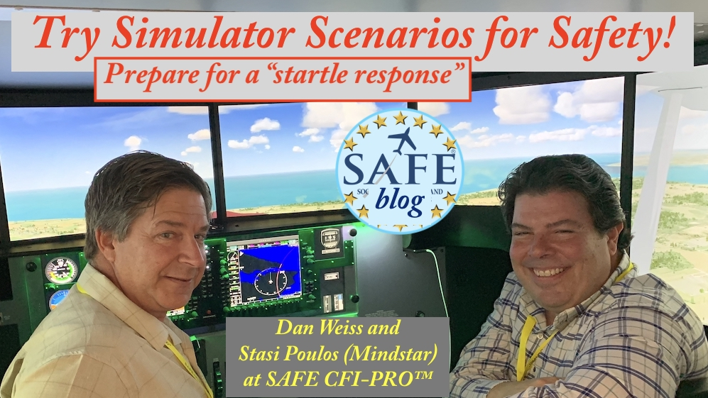 CFI Simulator Scenarios Build Safety!