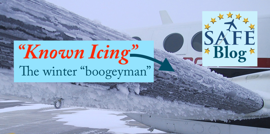 "Managing the ""Known Icing"" Boogeyman"